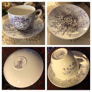 Wedgwood Tea Cup & Saucer